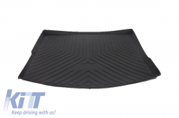 Trunk Mat Cargo Liner suitable for MERCEDES Benz GLE ML W166 (2011-up) Black - TMMBGLEW166
