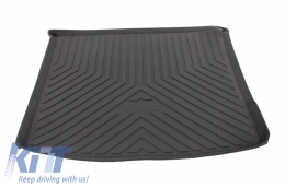 Trunk Mat Cargo Liner suitable for MERCEDES Benz W166 ML (2011-2015) Black - TMMBMLW164