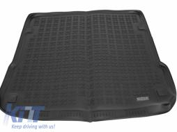 Trunk Mat Rubber Black AUDI Q7 2005-2014