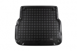 Trunk Mat Rubber Black MERCEDES W204 S204 C-Class T-Model 2007-2014 - 230926