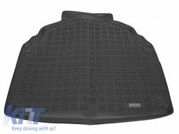 Trunk Mat Rubber Black MERCEDES W212 E-Class Limousine 2009-2016