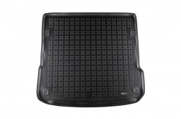 Trunk Mat Rubber Black suitable for AUDI Q7 4L 2005-2014 - 232020