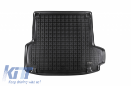 Trunk Mat Rubber Black suitable for BMW 3 Series (F34) Gran Turismo (2013 +) - 232124