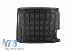 Trunk Mat Rubber Black suitable for BMW X4 (F26) (2014-2018) - 232128