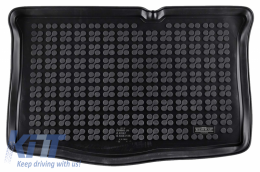 Trunk Mat Rubber Black suitable for HYUNDAI i20 II (2014-) - 230637