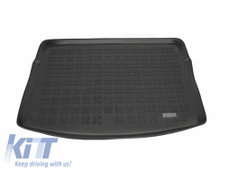 Trunk Mat Rubber Black VOLKSWAGEN Golf 7 VII Hatchback 2012+