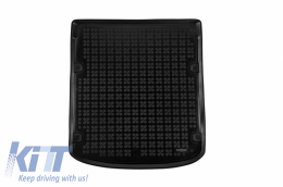 Trunk Mat Rubber suitable for Audi A6 V C8 Sedan (2018-) Black - 232042