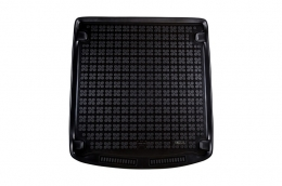 Trunk Mat rubbersuitable for AUDI A6 Avant 2011+ Black - 232026