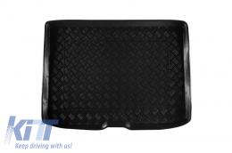 Trunk Mat without Non Slip Black suitable for AUDI A3 8V Hatchback Sportback (2012-up) Regular Spare Tire - 102029