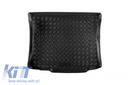 Trunk Mat without Non Slip suitable for AUDI A3 Hatchback (09.1996-2003) Black - 102002