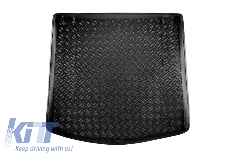 CarFashion 226500 Double Rip Car Mats for Set of 5 E61 Touring Construction Year 07.2003-02.2007 Bound Edging with Fixings
