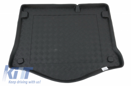 Trunk Mat without Non Slip suitable for FORD Focus II Hatchback (2005-2011) with an irregular size spare tire - 100416
