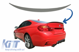 Trunk Spoiler suitable for BMW 4 Series F32 (2013-up) M4 Design - TSBMF32M4