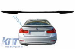 Trunk Spoiler suitable for BMW 4 Series Gran Coupe F36 (2013-up) M4 CSL Design Piano Black - TSBMF32M4CSPB