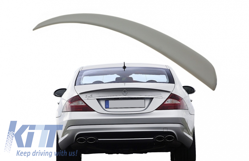 autopartsTW Trunk Spoiler for Mercedes Benz W219 CLS Class