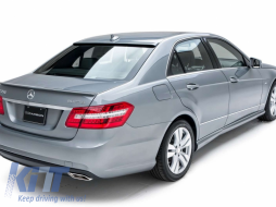 Trunk Spoiler W212 Mercedes-Benz E-Class W212 (2009-up) Facelift AMG Design