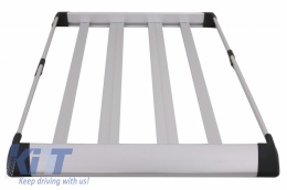Universal Auto Roof Luggage Basket Aluminum Alloy - UNIVERSALRT01