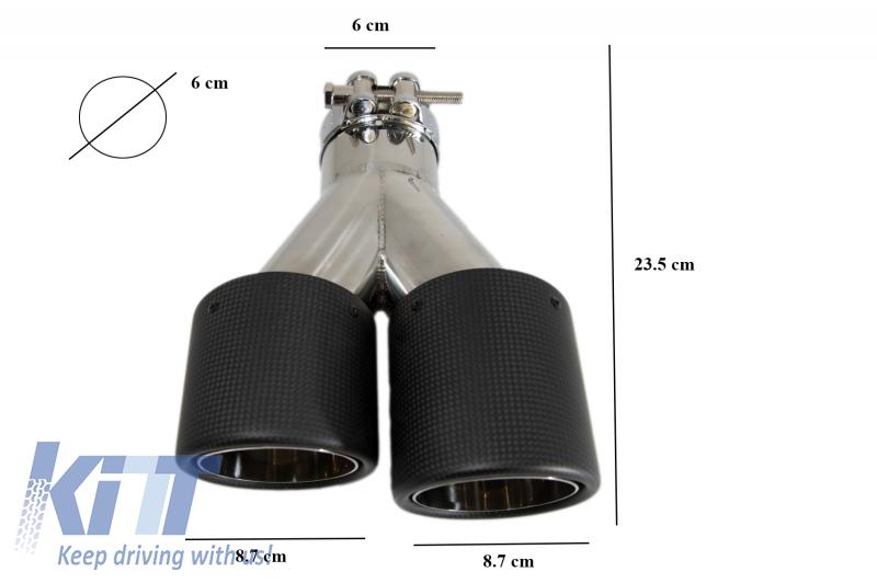 ETS-EXHAUST 51438 Tuyau Interm/édiaire Le Kit D/'Assemblage Complet