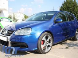 Volkswagen Golf MK V 5 (2003-2007) R32 Brushed Aluminium Look Front Bumper