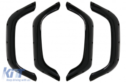 Wheel Arches suitable for Land Rover Defender (1990-2016) Glossy Piano Black - WALRD