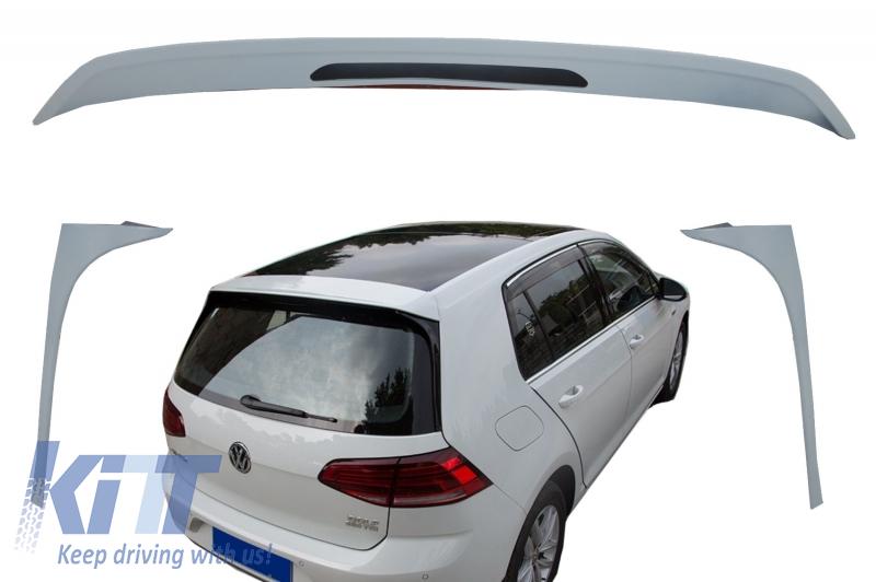 windshield roof wing fins spoiler suitable for vw golf 7. Black Bedroom Furniture Sets. Home Design Ideas