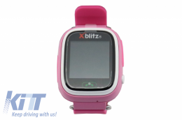 Xblitz Kids Watch With GPS Love Me Smart Watch Pink - XBLOVEMEP