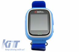 Xblitz Kids Watch With GPS Love Me Smart Watch Blue - XBLOVEMEB