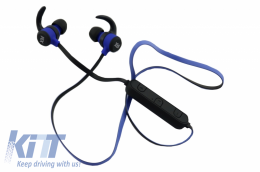 Xblitz Pure Wireless Bluetooth Headphones, Blue - XBHEADPH
